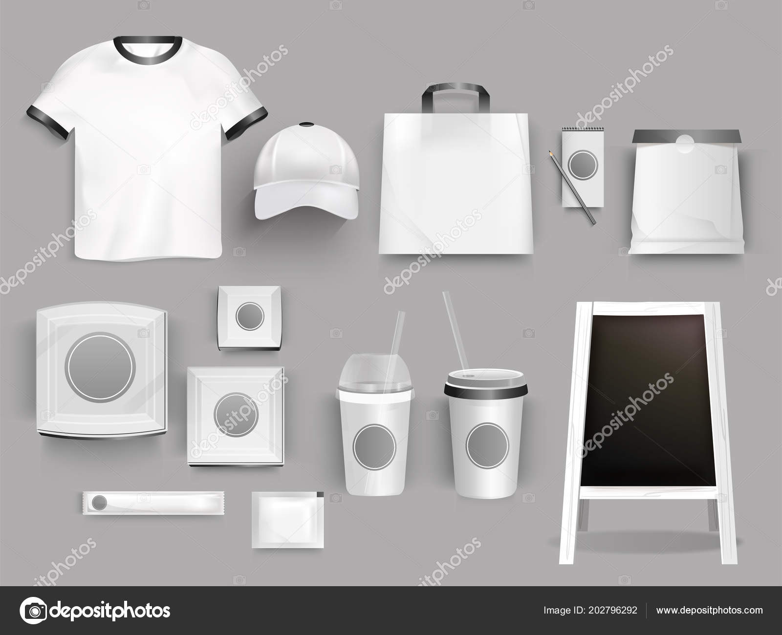 Creative Collection Corporate Identity Template Illustration Shirt
