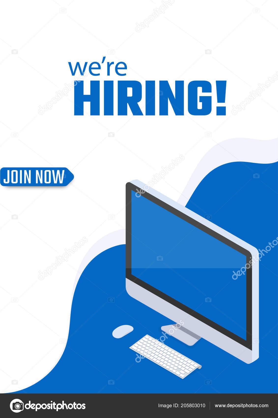 hiring join now poster template design job vacancy advertisement