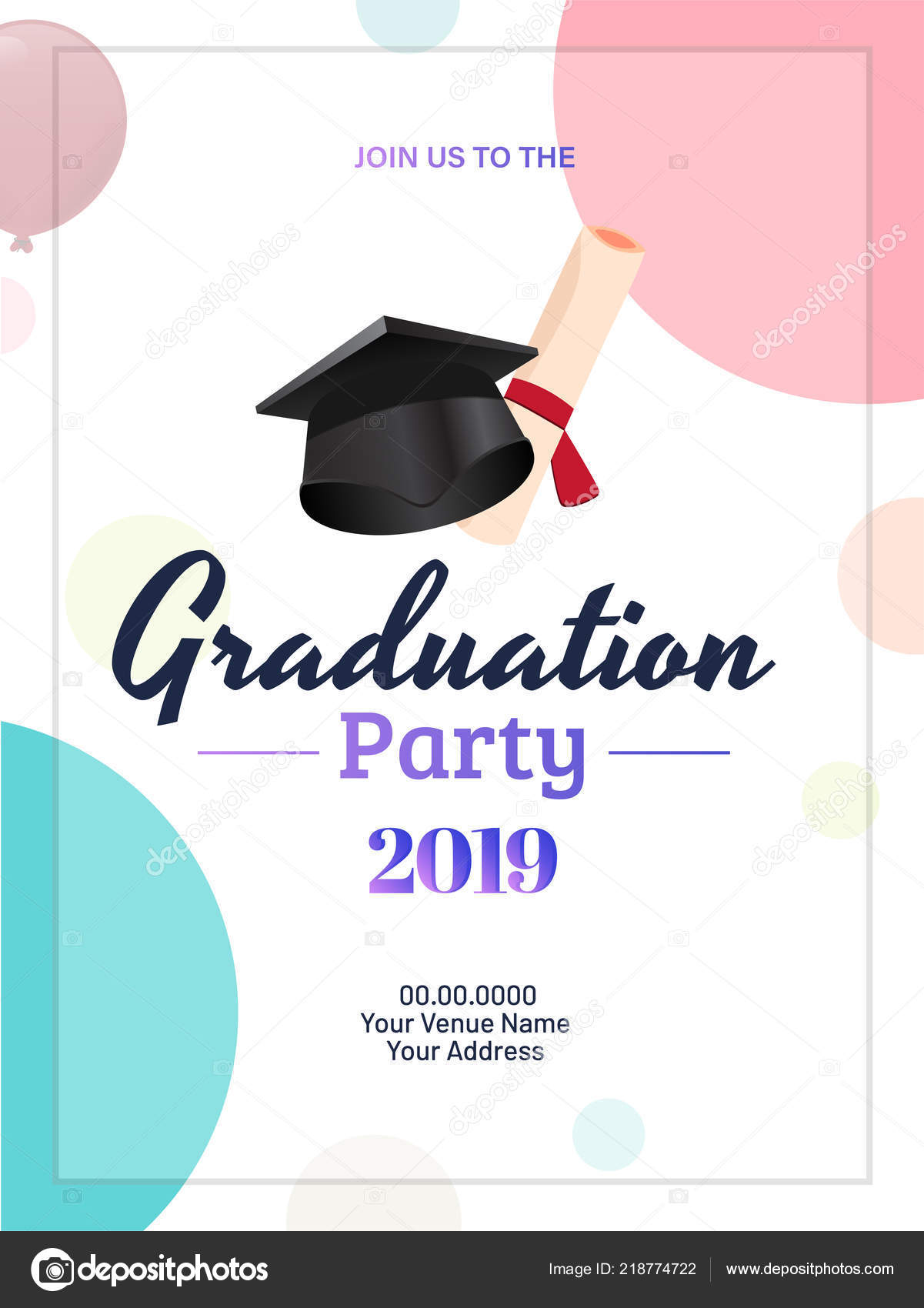 varsity blue graduation announcements in 2019 products