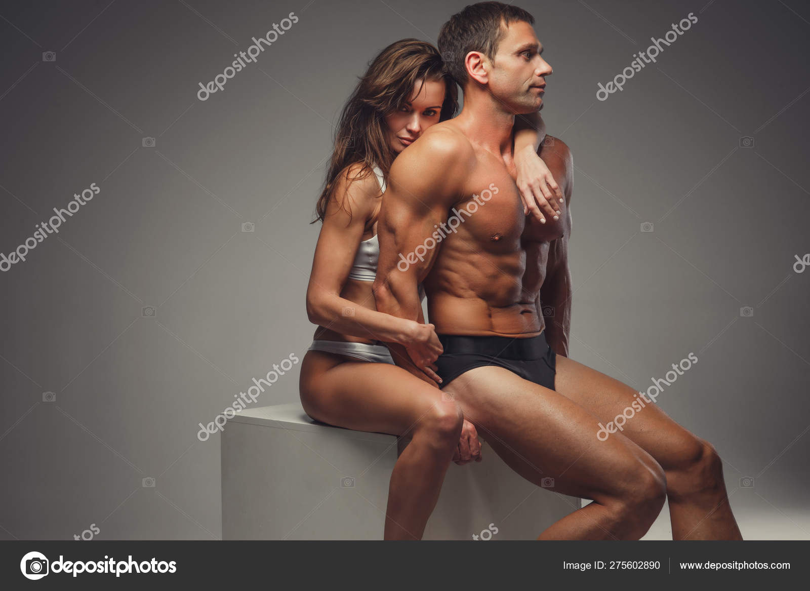 Naked and athletic Naked Athletic Couple Posing In Studio Stock Photo By C Fxquadro 275602890