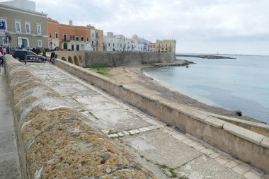 Ancient fortifications on the Ionian waterfront