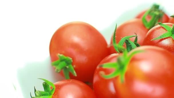 cherry rajčata šťavnaté rotate.concept originální a svěží tomato.red
