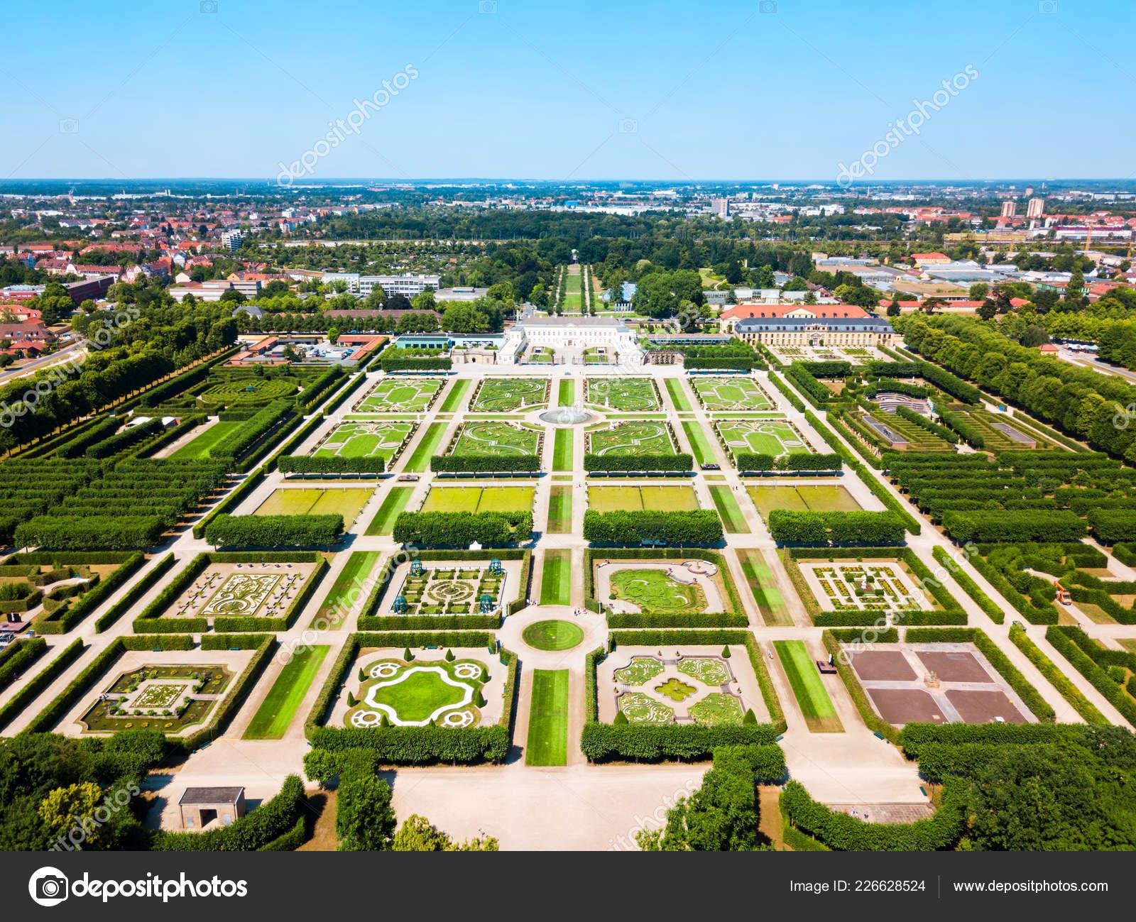 Herrenhäuser Gärten Von Herrenhausen Palace Befindet Sich Hannover