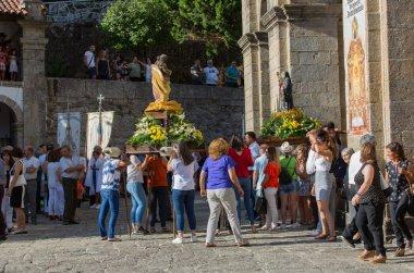 Traditional religious procession of Senhora da Abadia