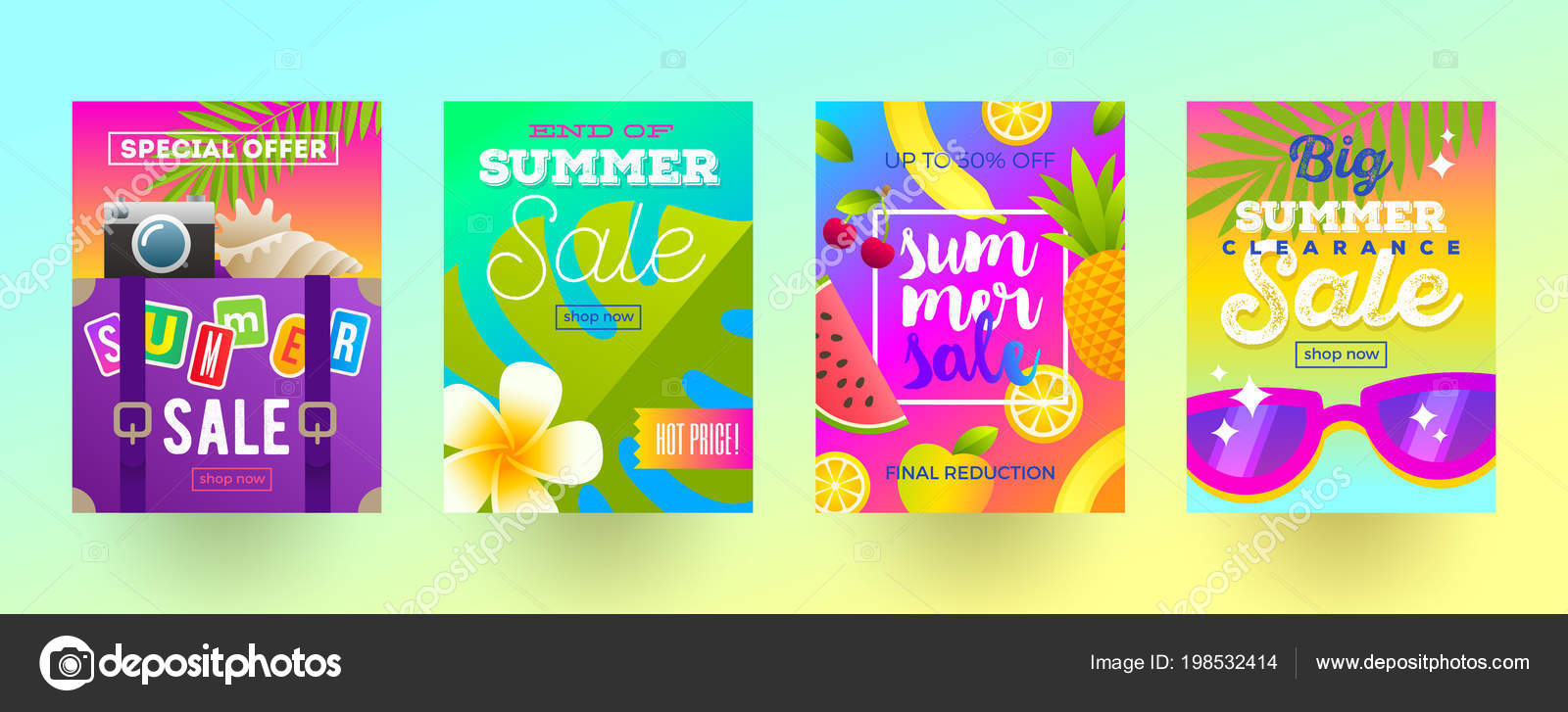 Travel Promotion Banners Blue Vintage Banners