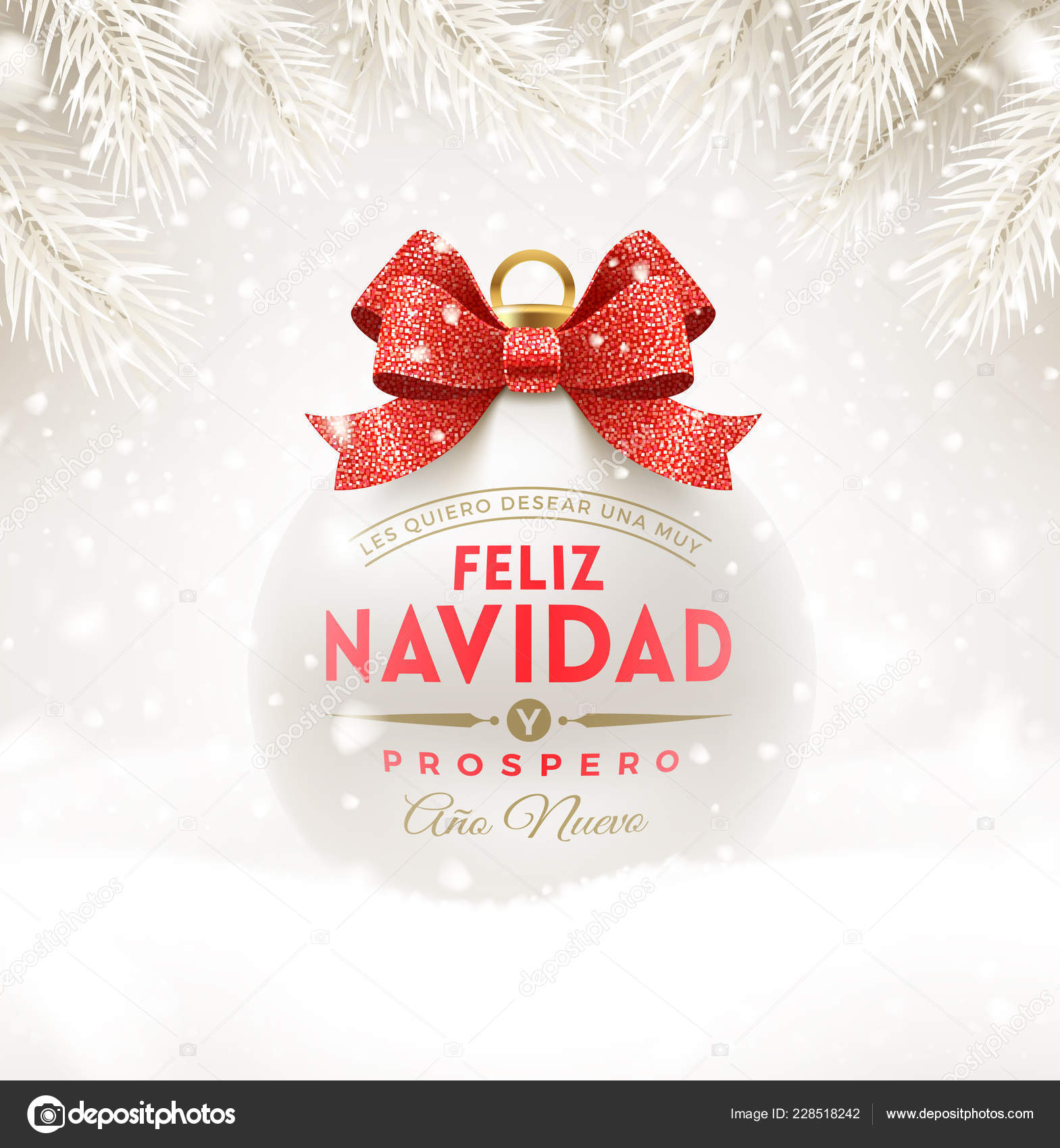 Christmas Spanish.Merry Christmas Greetings In Spanish Feliz Navidad