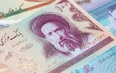 Fotografie Variety of Middle East banknotes