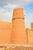 Fotografie Al Masmak fort in Riyadh city, Saudi Arabia.