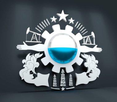 Heavy industry emblem