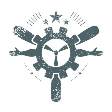 Transport industry emblem
