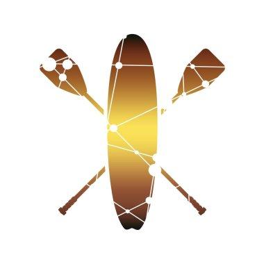 Surf board illustration