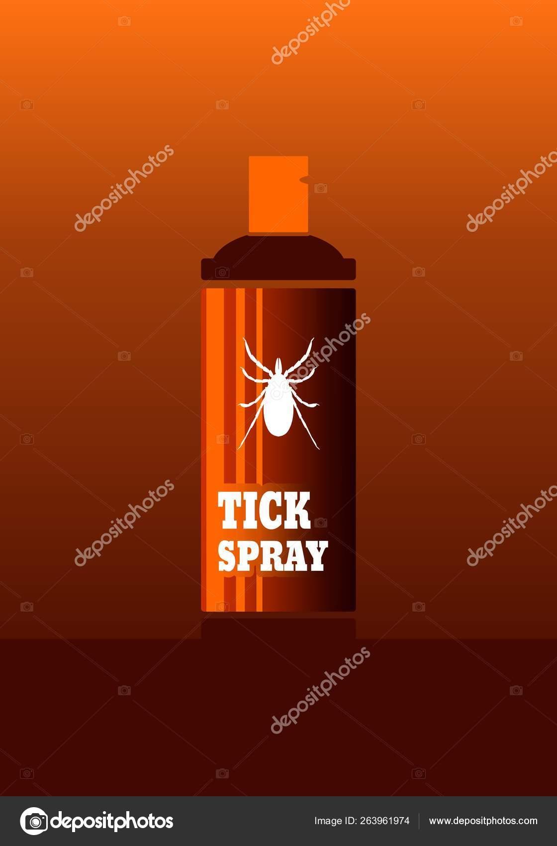 Anti Tick Spray Vector De Stock Jegasra 263961974