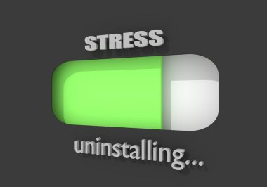Stress level conceptual meter