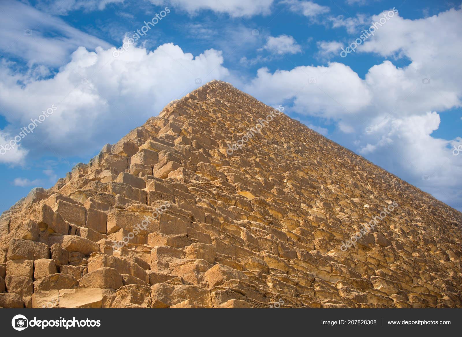 Image Great Pyramids Giza Egypt — Stock Photo © Lindrik #207828308