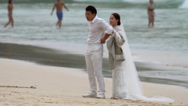 Thai wedding on Nai Harn Beach