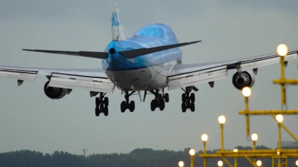 KLM Boeing 747 přistání