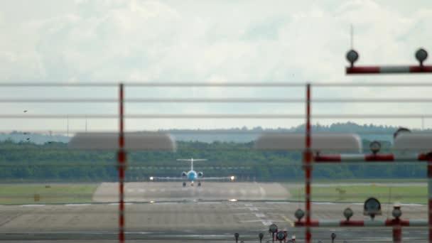 Abflug mit dem Twinjet