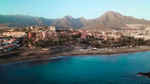 Top view over Los Cristianos, Canary Islands, Tenerife, Spain