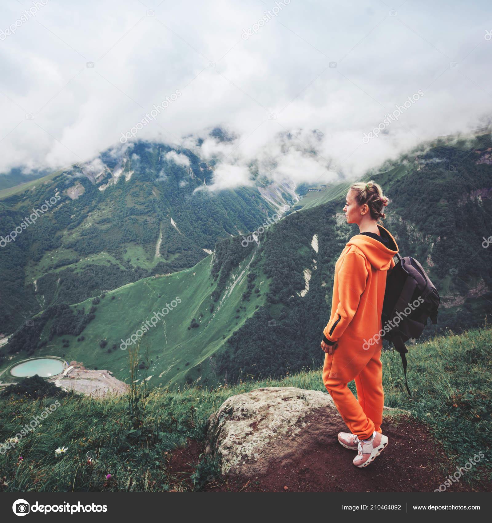 Montaña Cima Turismo Hombre Mujer Con Mochila qSzMVpGU