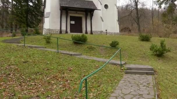Evangelical Church of Augsburg Confession in Tatranska Lomnica, High Tatras, Slovakia. It was built in 1902.
