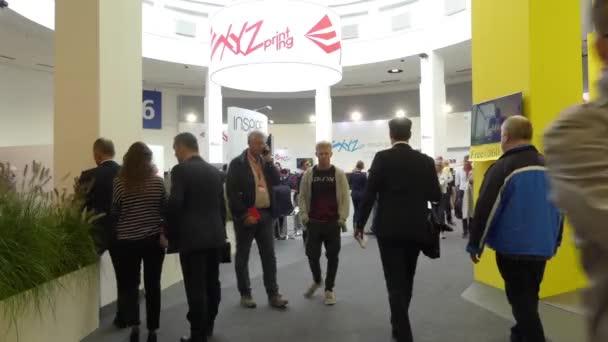 IFA, BERLIN - SEPTEMBER 5 2016: Pavilion 3D printers at International radio exhibition Berlin, Messe, Germany.