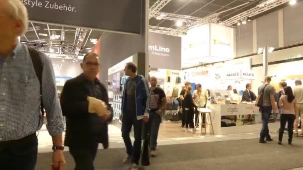 IFA, BERLIN - SEPTEMBER 5 2016: Pavilions at International radio exhibition Berlin, Messe, Germany.
