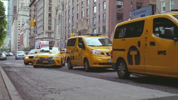 Žluté Taxi v New York City