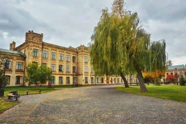 Kiev, Ukraine - 14 October, 2017: Main building of the National Technical University of Ukraine Igor Sikorsky Kyiv Polytechnic Institute , Ukraine.