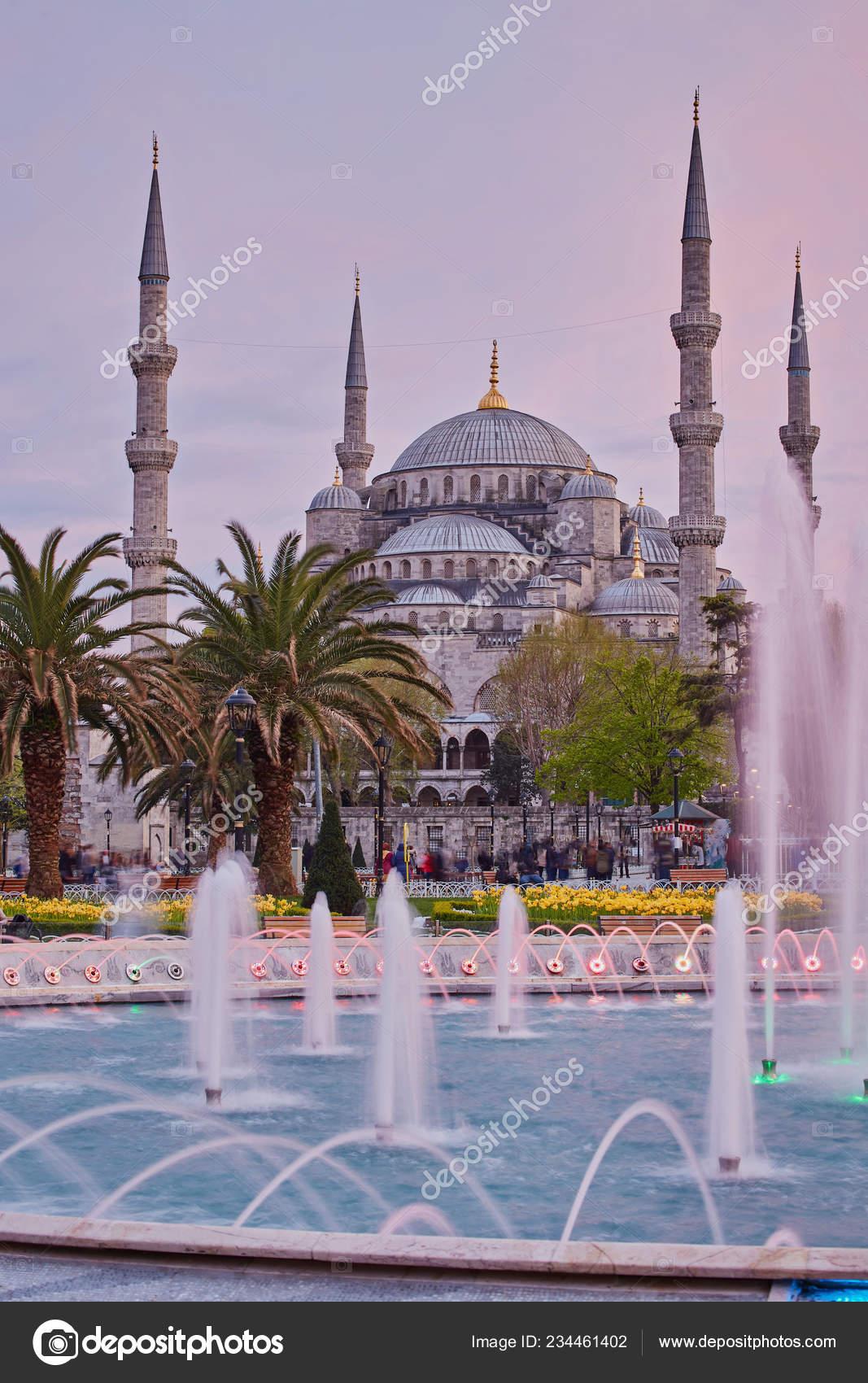 Обои стамбул, фонтан, турция, мечеть, Вода, мечеть султанахмет. Города foto 16