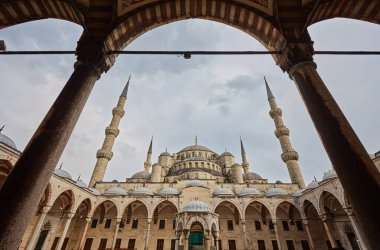 Blue Mosque, art masterpiece of Istanbul, Turkey