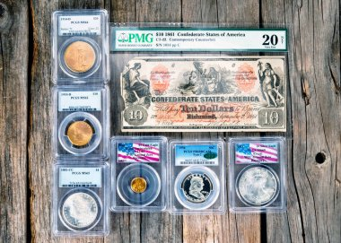 Antique Coin Collecting.