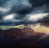 krásné a výjimečné povětrnostní podmínky v horách