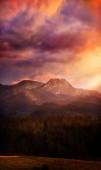 Krása pohled na hory