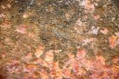 Fotografia Struttura della ruggine sul metallo per priorità bassa del grunge