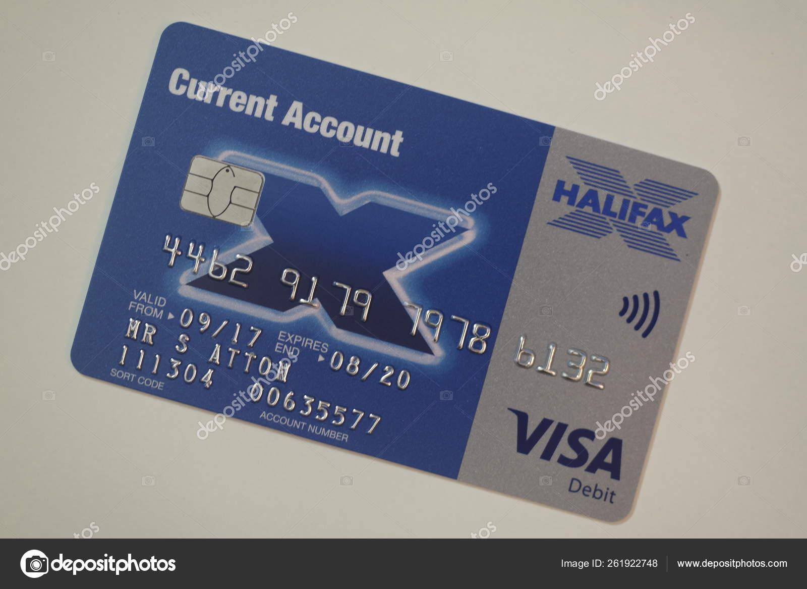Halifax Bank Card On White Stock Editorial Photo C Stuart49 261922748