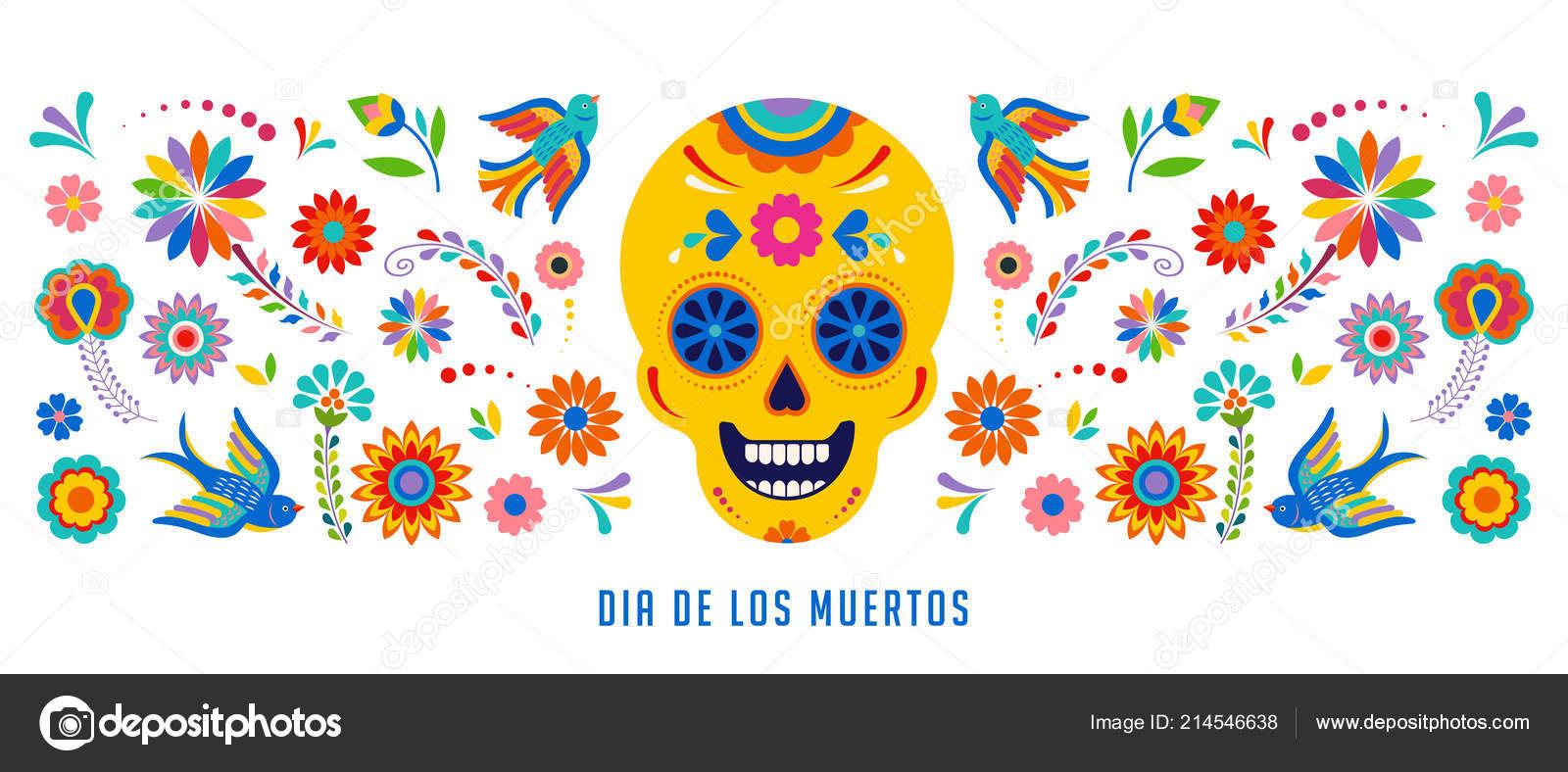 Día De Muertos, Dia De Los Muertos Fondo, Banner Y