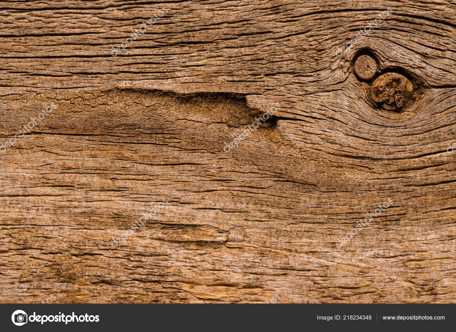 Wood Texture Brushed Pine Boards Knots Abstract Background