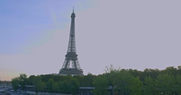 Paris,France. Sunrise on Eifel tower