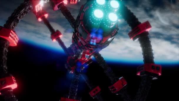 Země a vesmír stanice iss