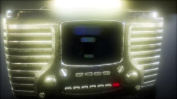 Vecchio stile vintage radio retrò