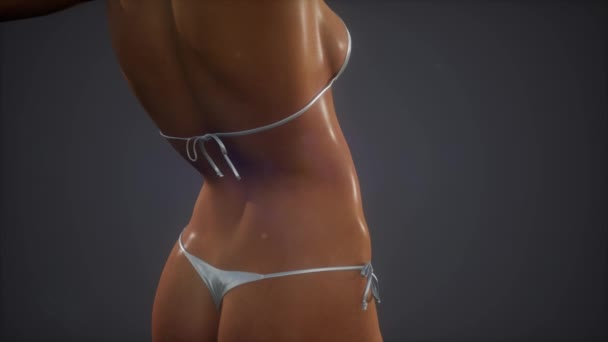 Gyönyörű womans test, szexi bikini
