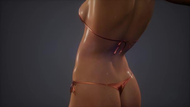Gyönyörű nők test szexi bikini