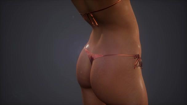 Corpo dei womans bella in bikini sexy