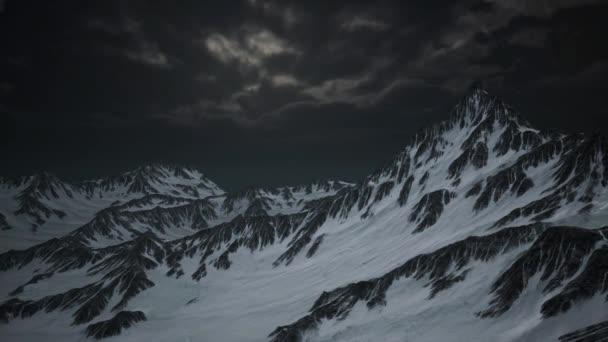 Norsko hory těžkou krajina