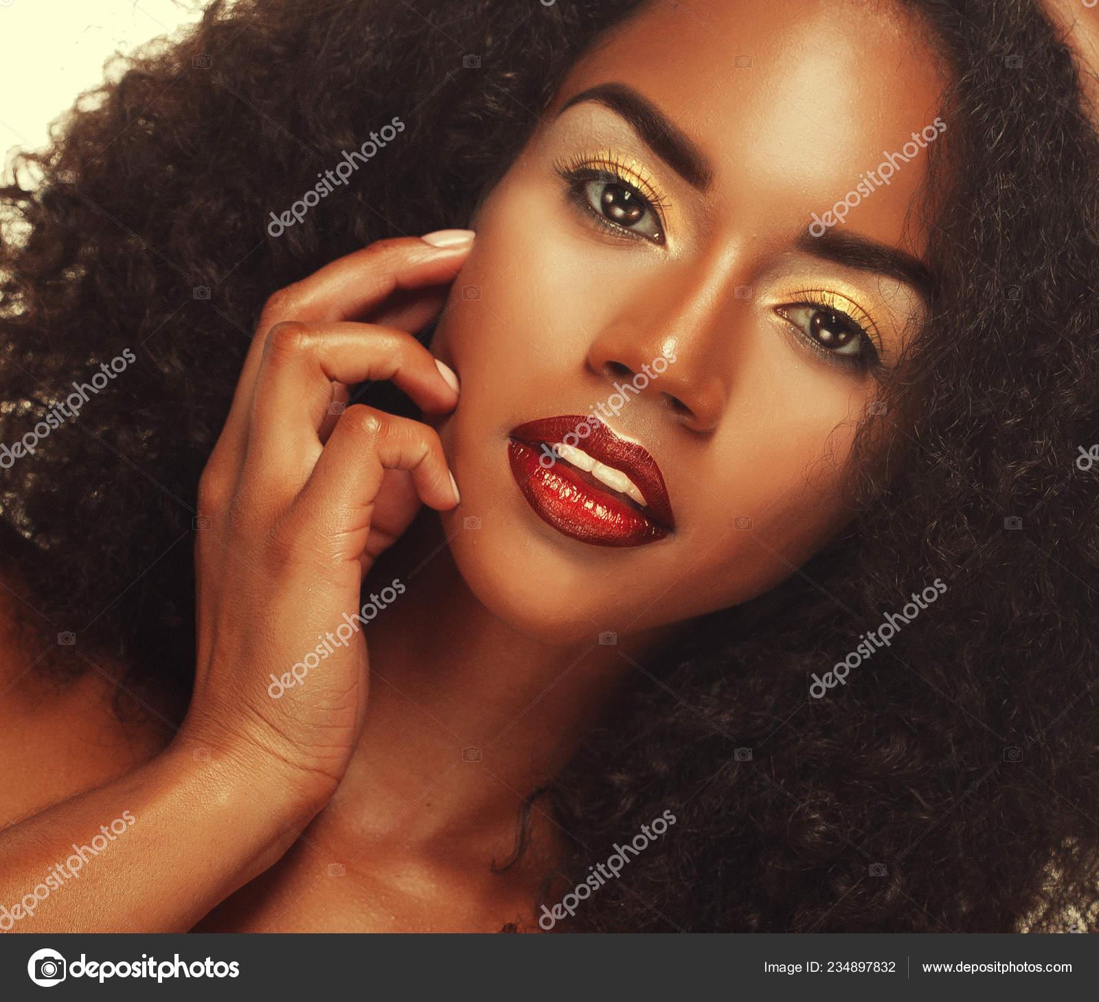Beauty Portrait Of Attractive African