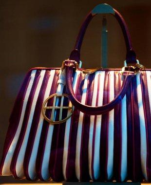 handbag exposed in a shop-window