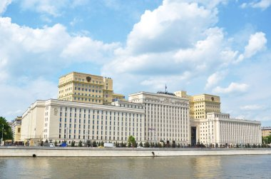 Panoramic view of Ministry of Defense of Russia, Moscow