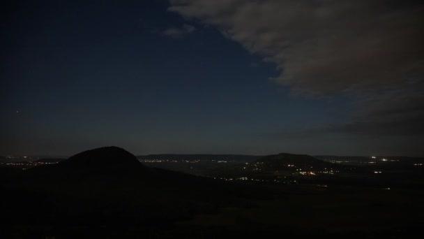 Éjszakánkénti felvétel éjjel a Balaton közelében