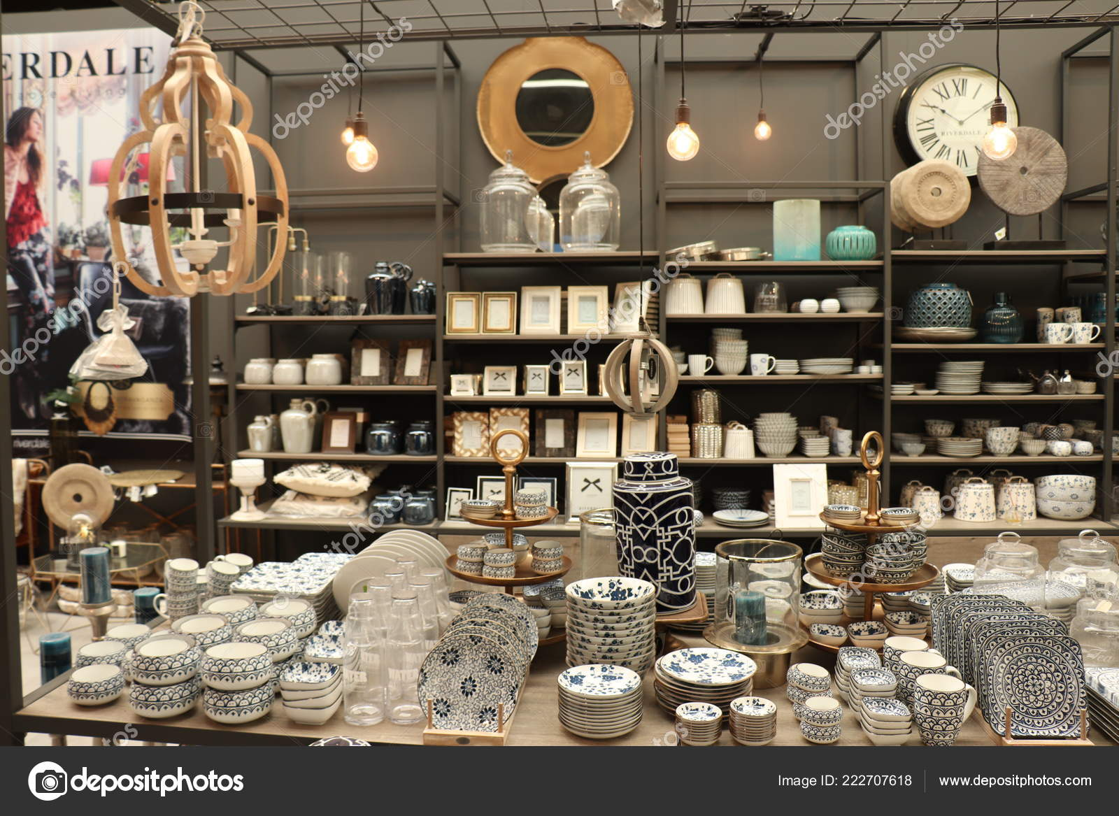 Cruquius, The Netherlands   October 26th 2018: Riverdale Home Accessories  In A Home Decoration Store. Riverdale Is A Dutch Home Decoration And  Lifestyle ...