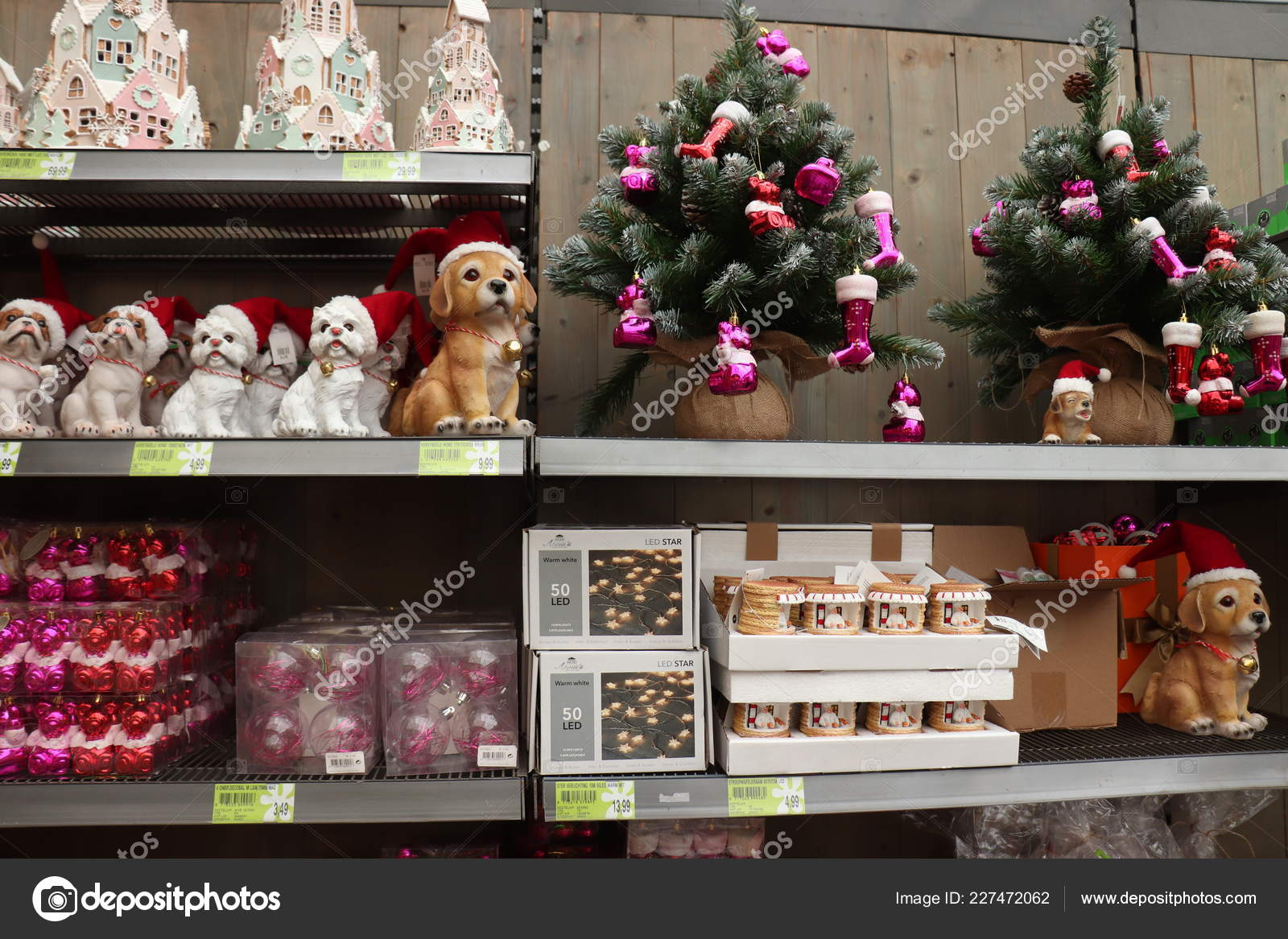 Cruquius Netherlands October 26th 2018 Christmas Decorations